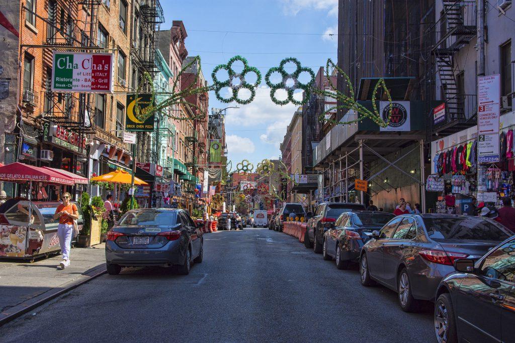 Tour a pie por el barrio chino de SoHo Little Italy en Nueva York